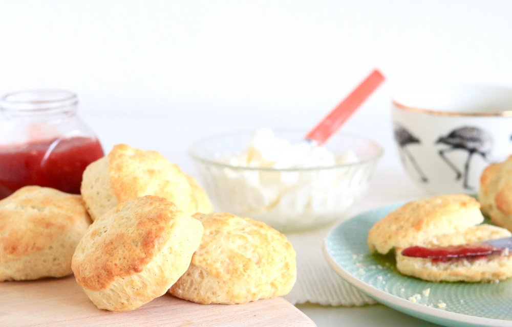 homemade scones CHICKSLOVEFOOD