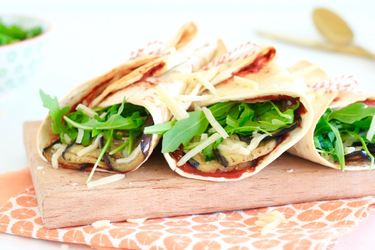 Melanzane wraps – 5 OR LESS
