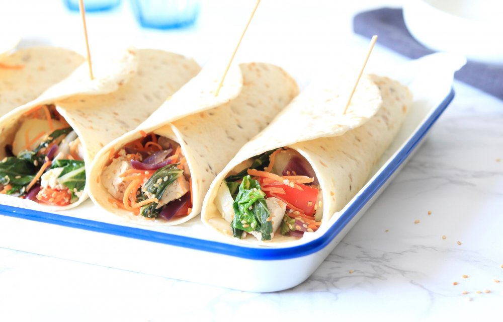 oosterse wraps CHICKSLOVEFOOD