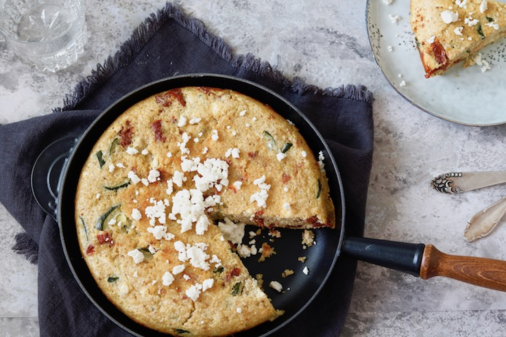 quinoa frittata met courgette CHICKSLOVEFOOD