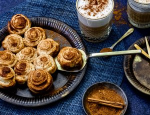 cinnamon roll kerstboom