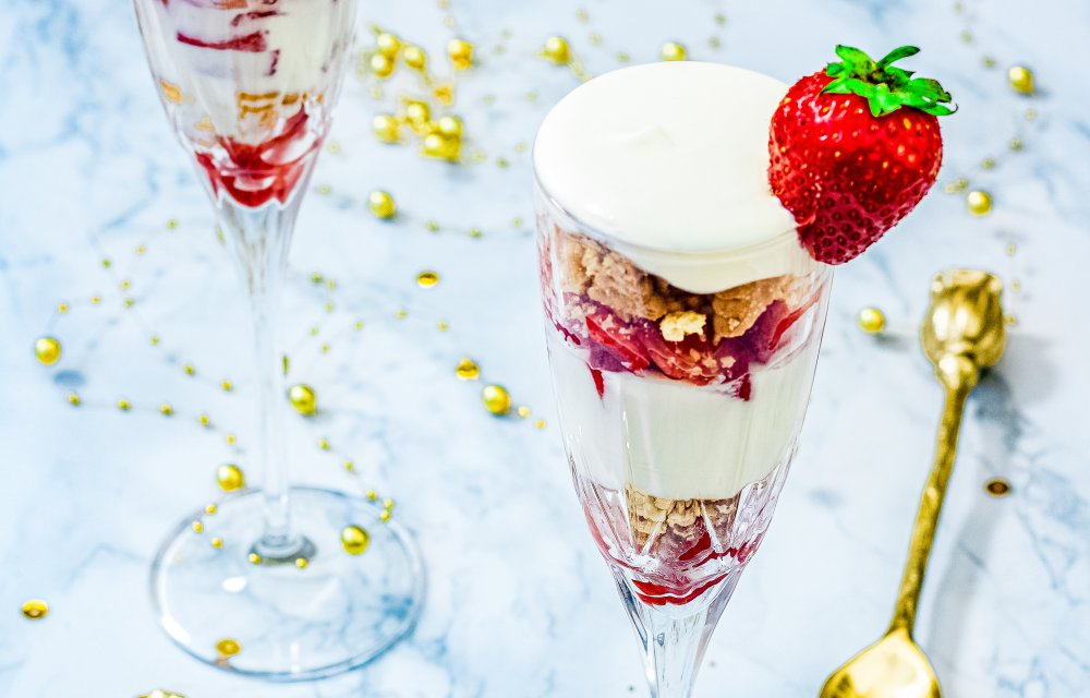 Champagne triffle