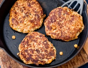 maïs-courgette fritters
