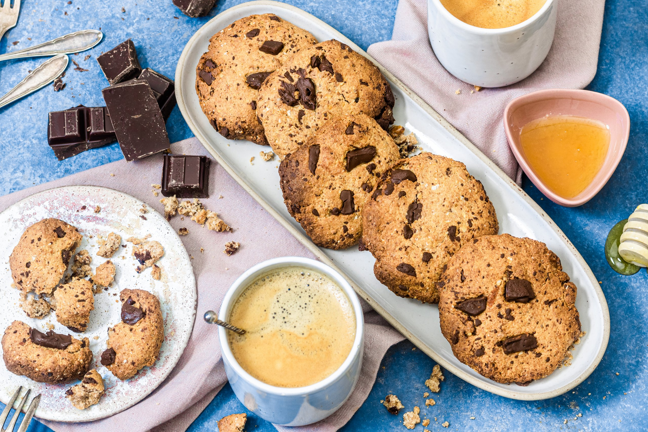 Healthy baking Chocolate Chip Cookies_1