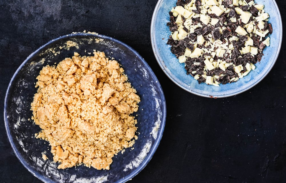 Chocolate chip cookie dough-2